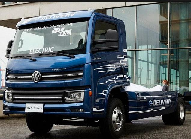 Грузовик Volkswagen