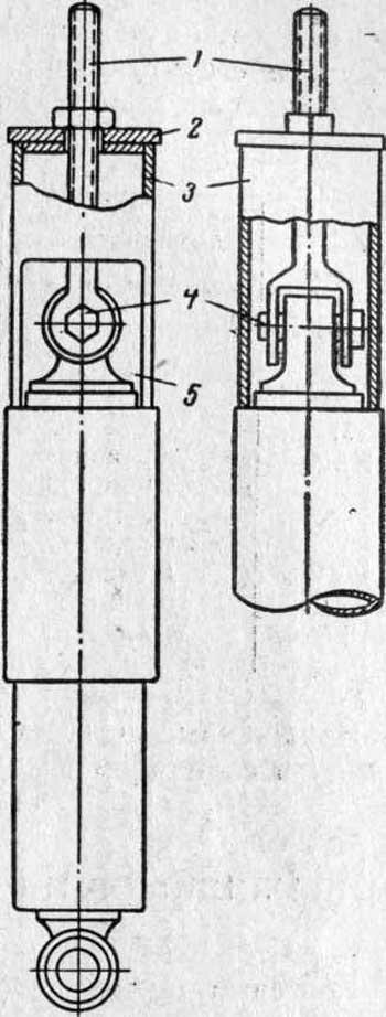 Приспособление для разборки подвески заднего колеса