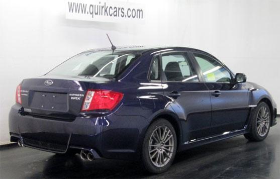 Subaru Impreza WRX 4d