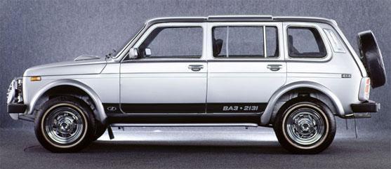 ВАЗ 2131 (длинная Нива)