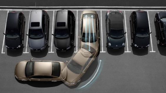 горизонтальная парковка задним ходом